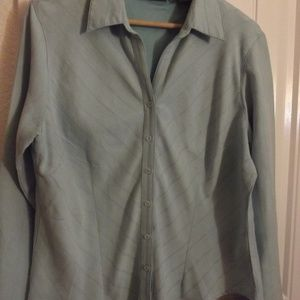 Women's Shirt Turquoise & Tailored Size XL